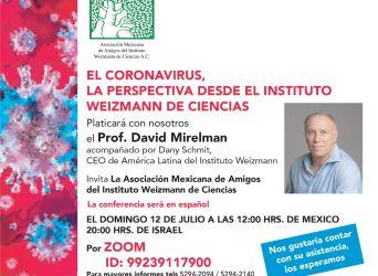 El Coronavirus, la perspectiva desde el Instituto Weizmann de Ciencias