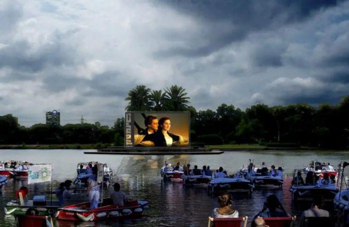 Tel Aviv abrirá cine flotante en el lago del Parque Hayarkon