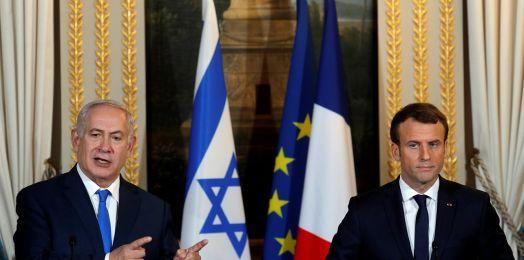 Hezbolá se equivoca si cree que una crisis con Israel resolvería la de Líbano: Netanyahu a Macron