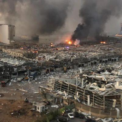 Hezbolá acumuló sustancias químicas de la explosión de Beirut en Londres y Alemania