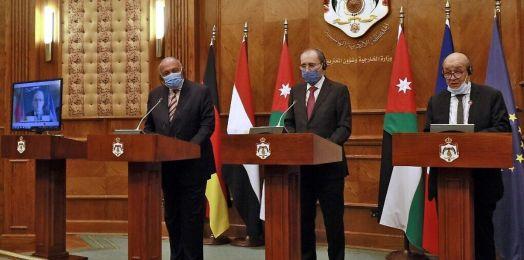 Jordania, Egipto y Unión Europea piden reanudar el proceso de paz israelí-palestino