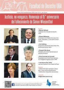 Cátedra Libre sobre Holocausto, Genocidios y Lucha contra la Discriminación de la Facultad de Derecho de la Universidad de Buenos Aires