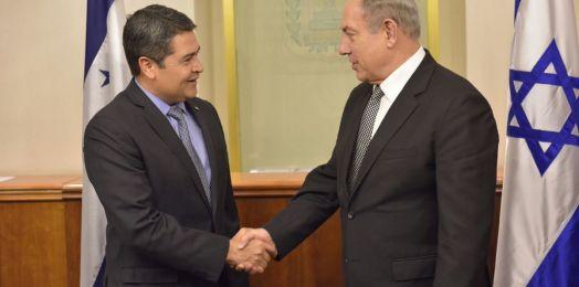 Honduras espera tener embajada en Jerusalén antes de fin de año, dice su presidente