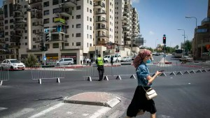 Israel, COVID-19, rojas