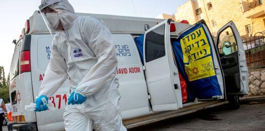 Suman 1,285 muertes y 193,374 casos acumulados de coronavirus en Israel