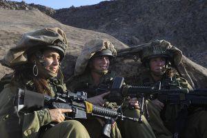 Mujeres soldados de combate de las FDI