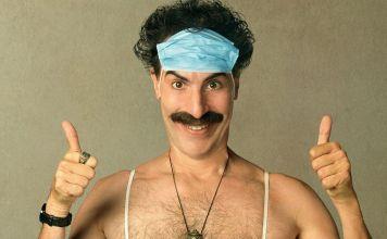 """Fotograma de la cinta """"Borat subsequent moviefilm"""" de Sacha Baron Cohen"""