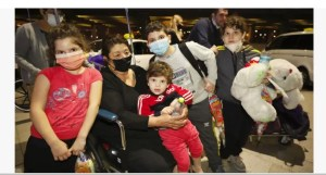 Setenta y dos nuevos inmigrantes de Georgia cumplieron su sueño de hacer aliá después de aterrizar en Israel esta semana.