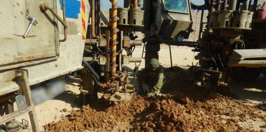 Israel descubre túnel terrorista en la frontera con Gaza