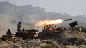 Misiles iraníes lanzados
