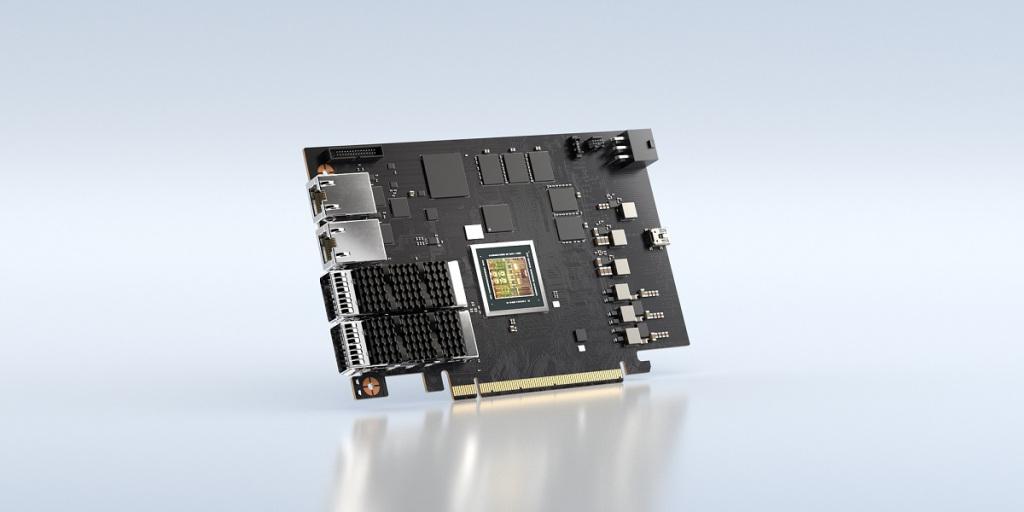 """Nvidia dio a conocer el lunes un nuevo y """"muy poderoso"""" procesador, desarrollado por el equipo israelí Mellanox Technologies Ltd."""