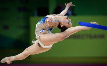 La gimnasta israelí Linoy Ashram