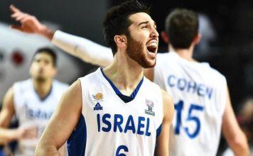 Jugador de la selección varonil de baloncesto de Israel