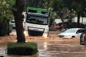 Fuertes lluvias azotan Israel; se registran algunas inundaciones