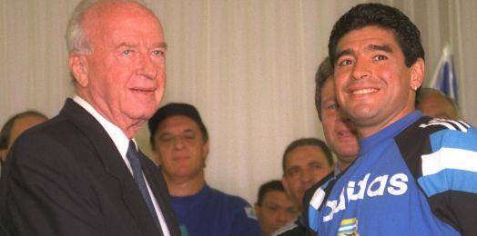 Las reacciones en Israel a la muerte de Maradona