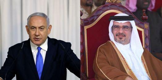 Netanyahu dialoga con el príncipe heredero de Baréin; promete visitar el país árabe