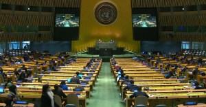 Sesión de la ONU el 19 de noviembre de 2020