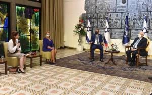 El presidente de Israel Reuven Rivlin recibió una delegación de Bahréin encabezada por un miembro de la familia real del reino