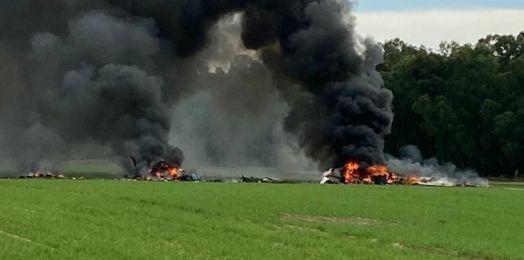 Mueren oficial y soldado de las FDI en choque de aeronave en el sur de Israel