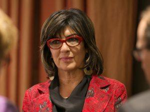 La periodista Christiane Amanpour