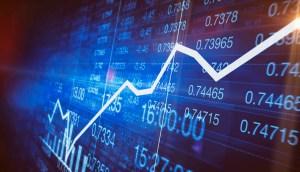 Ilustración de datos financieros y económicos