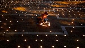 Encendido de velas con motivo del 25 aniversario del asesinato de Yitzhak Rabin
