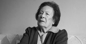 Fotografía de la sobreviviente judía del Holocausto, Esther Cohen