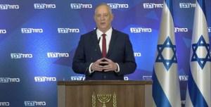 El ministro de Defensa de Israel, Benny Gantz