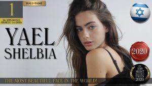 Nombran a la israelí Yael Shelbia el rostro más bello de 2020