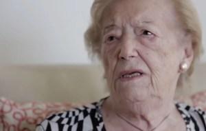 Poderoso testimonio del dolor y la felicidad según Sara Rus, sobreviviente del Holocausto y madre de un desaparecido en Argentina