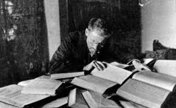 """Eliezer Ben Yehuda, considerado el """"padre del hebreo moderno"""", falleció un 16 de diciembre de 1922 a los 64 años de tuberculosis en Jerusalén"""