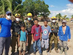 Luego de completar su misión de ayuda en las zonas azotadas por los huracanes Eta e Iota en Honduras aterrizó en Israel la delegación de ayuda de las FDI