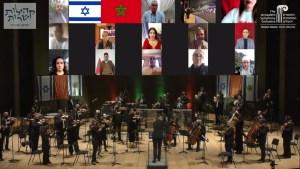 Luego del anuncio del acuerdo de normalización entre Israel y Marruecos, la Orquesta Sinfónica de Jerusalén grabó el Himno Nacional de Marruecos