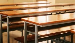Mesas de aula escolar