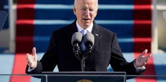 Joe Biden en un discurso