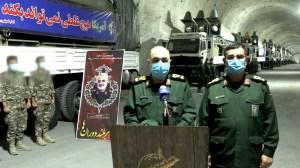 """Irán dio a conocer una de sus """"bases estratégicas de misiles"""" ubicadas en las """"costas del Golfo Pérsico"""", según el sitio web Sepahnews."""