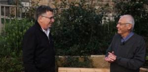 Benny Beguin y Gideon Sa'ar