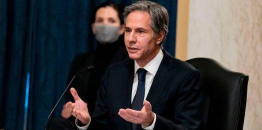 Confirman como secretario de Estado de EE. UU. a Antony Blinken, judío estadounidense
