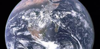 Fotografía del planeta tierra