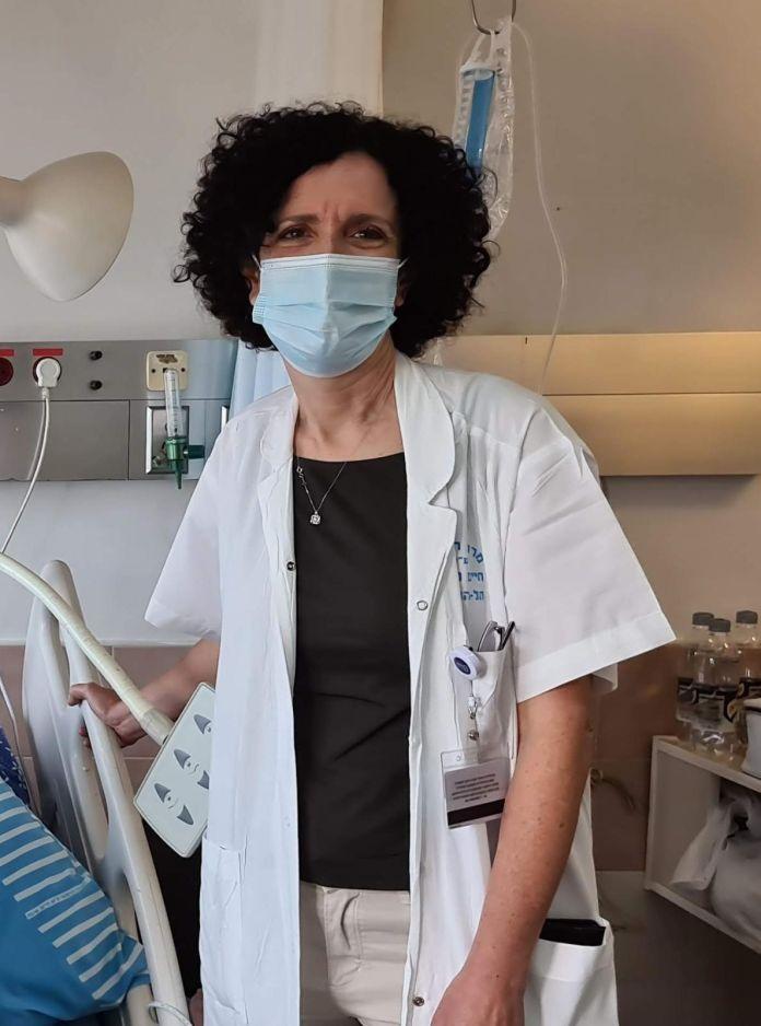 La médica israelí Tehilla Menes