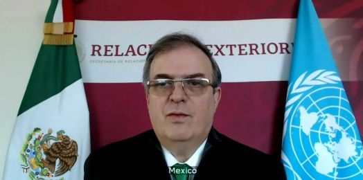 Ebrard ante la ONU: México dio 750 mil dólares para refugiados palestinos; respaldamos una solución de dos Estados