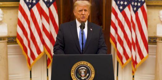En mensaje de despedida, Trump destaca acciones a favor de Israel