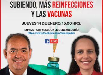 La nueva variante, los casos subiendo, más reinfecciones y las vacunas