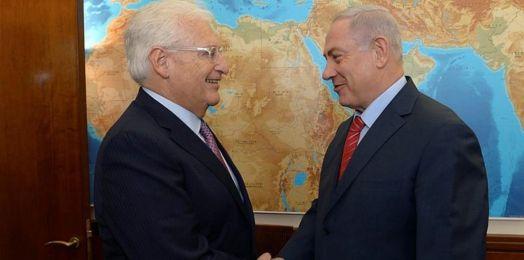 Netanyahu: nunca ha habido un embajador más grande que David Friedman