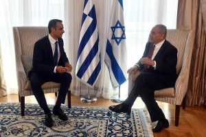 Benjamín Netanyahu habló con el primer ministro griego Kyriakos Mitsotakis sobre la campaña de vacunación contra el coronavirus de Israel.