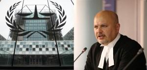 Sede de la Corte Penal Internacional y Karim Khan