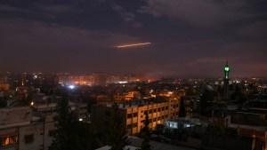 Panorama urbano en Siria