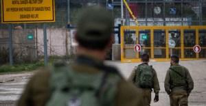 Soldados de Israel en la frontera con Siria