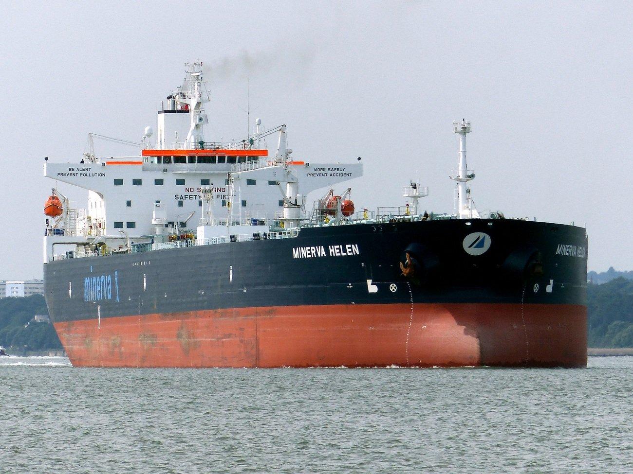 La embarcación griega, es sospechosa en el incidente de este mes y estuvo involucrada en un derrame de petróleo cerca de Copenhague, en enero de 2008.