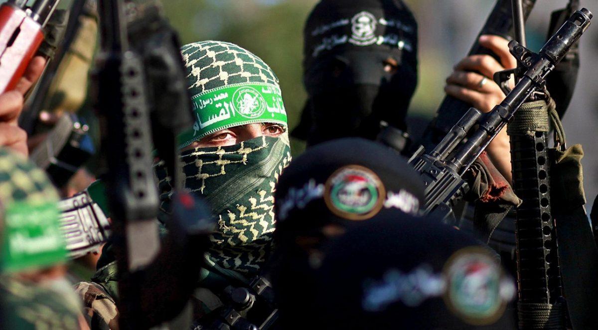 Miembros del grupo terrorista Hamás